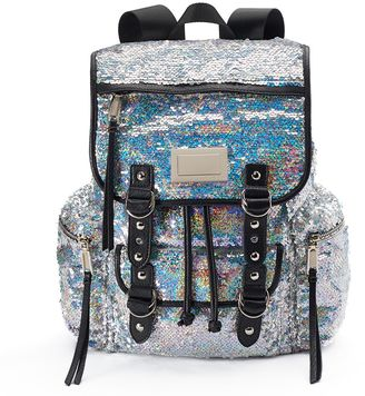 Juicy Couture Iridescent Sequin Backpack $99 thestylecure.com