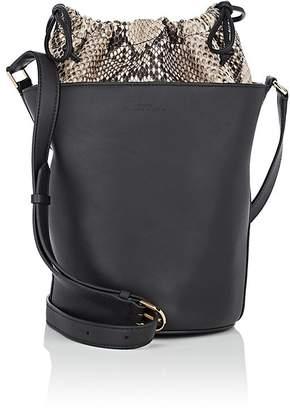 Byredo Women's Aadya Python & Leather Bucket Bag