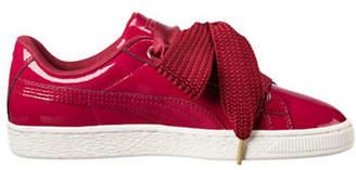 Puma Women's Basket Heart Lace-up Sneakers