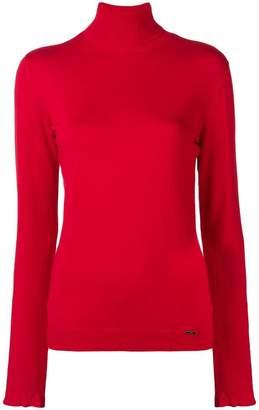 Liu Jo roll-neck fitted sweater