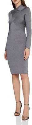 Reiss Alethia Metallic Knit Dress