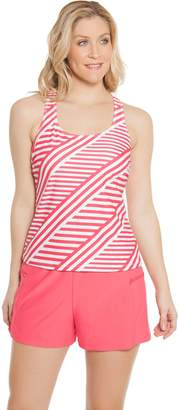 Ocean Dream Signature Stripe Play Tankini Swimsuit