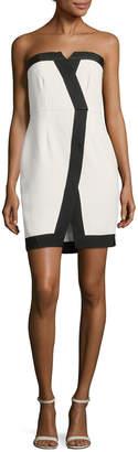 Rachel Zoe Corwin Colorblocked Sheath Dress