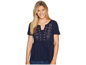 Sanctuary Carlisle Top Women's Short Sleeve Pullover