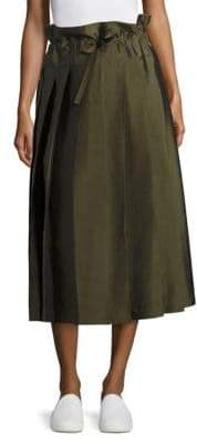 Sara Lanzi Drawstring Pleated Skirt