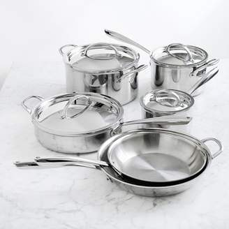 Williams-Sonoma Williams Sonoma Signature Thermo-CladTM; Stainless-Steel 10-Piece Cookware Set