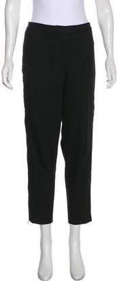 Robert Rodriguez Silk Straight-Leg Pants
