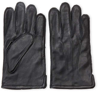 Gii Cashmere-Lined Leather Gloves