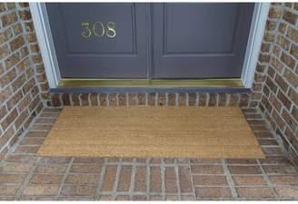 Fleur De Lis Living Frances Solid Double Door Doormat