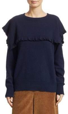 See by Chloe Ruffled Long Sleeve Sweater