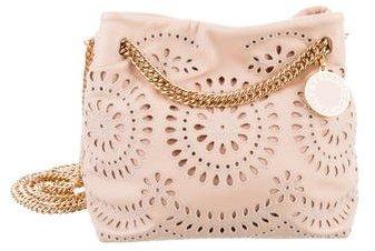 Stella McCartney Noma Eyelet Crossbody Bucket Bag