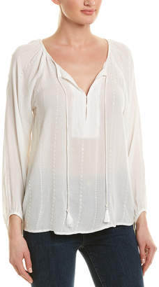 IF BY SEA If By Sea Eyelet Blouse