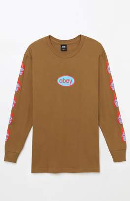 Obey Creeper Flame Long Sleeve T-Shirt