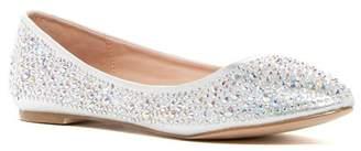 Ralph Lauren Lorraine Lizzy Embellished Flat