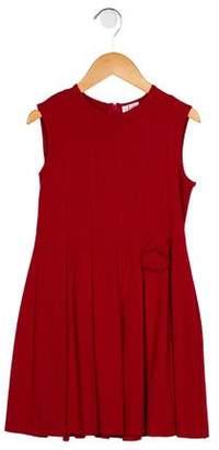 Il Gufo Girls' Pleated A-Line Dress