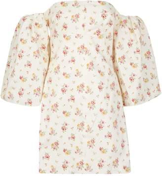 Petersyn Renata Off-The-Shoulder Mini Dress