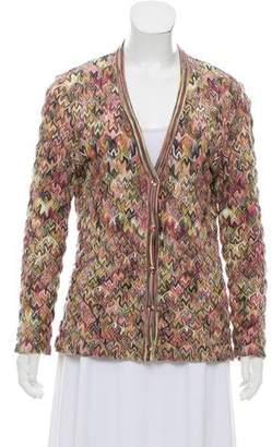Missoni Intarsia Knit Cardigan