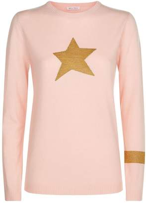 Bella Freud Lurex Star Sweater
