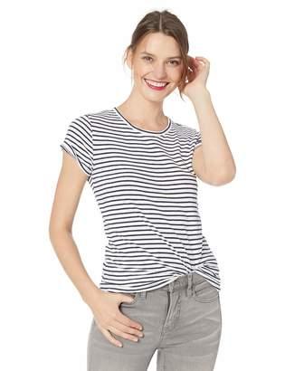 982eabf134f J.Crew Mercantile Women's Short Sleeve Striped Crewneck T-Shirt, XS