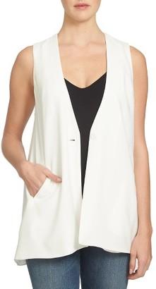 Women's 1.state Crepe Vest $119 thestylecure.com