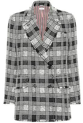 Thom Browne Checked tweed blazer