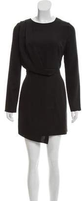 Blaque Label Long Sleeve Mini Dress