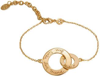 Merci Maman Personalized Intertwined Chain Bracelet
