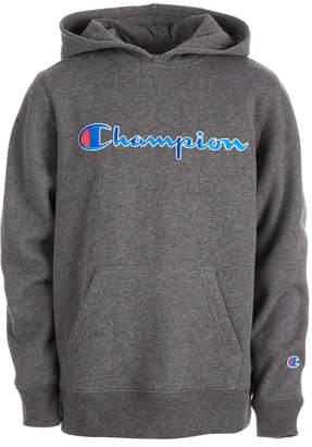 Champion Big Boys Heritage Logo Hoodie