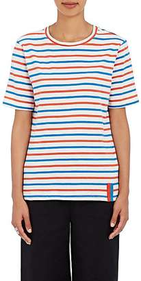 Kule Women's Modern Striped Cotton T-Shirt $88 thestylecure.com