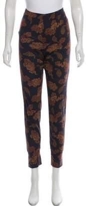 Dries Van Noten Printed Mid-Rise Pants