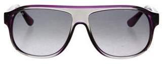 Tod's Tinted Shield Sunglasses