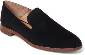 Franco Sarto Black Leather Haylee Loafers