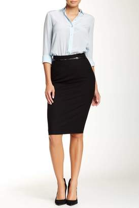 Amanda & Chelsea Signature Belted Pencil Skirt $98 thestylecure.com