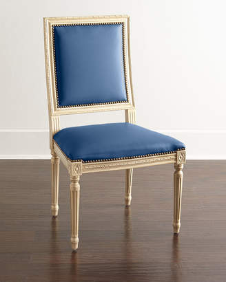 Horchow Massoud Ingram Leather Dining Chair, B8