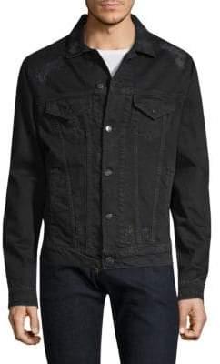 IRO Tanet Destroyed Denim Jacket