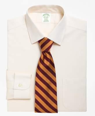 Brooks Brothers Milano Slim-Fit Dress Shirt, Non-Iron Spread Collar