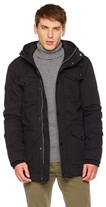 Co The Portland Plaid Men's Parka with Heavy Garment Washing