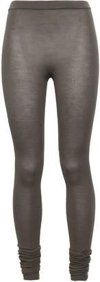 Rick Owens Stretch-cashmere Leggings