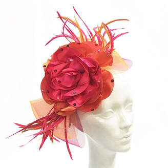 Whittall & Shon Flower Fascinator Derby Hat