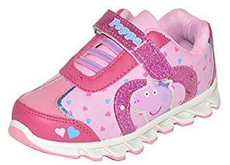 Peppa Pig Heart Light-up Sneakers Size 7 Toddler