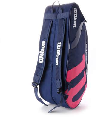 4171cd427fb28 Wilson (ウィルソン) - ウィルソン Wilson テニス ラケットバッグ TEAM J 6PACK WR80006050