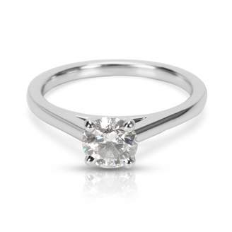 De Beers Silver Platinum Ring