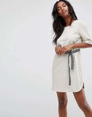 Vero Moda Tie Waist Shift Dress
