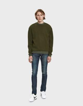 John Elliott The Cast 2 Denim Jean in Dirty Dry Process Wash