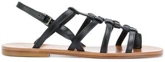 Clergerie flat strappy sandals
