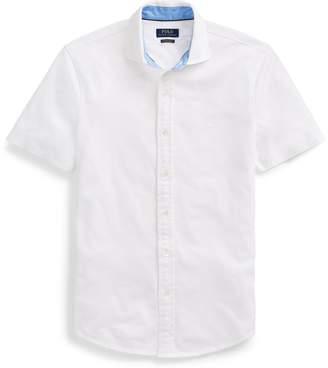 Ralph Lauren Custom Slim Fit Mesh Shirt