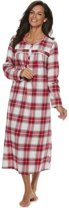 Croft & Barrow Petite Flannel Nightgown