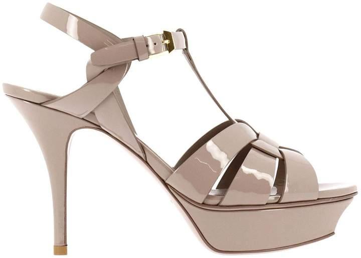 SAINT LAURENT Heeled Sandals Shoes Women Saint Laurent
