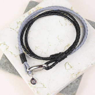 Bobby Rocks Double Wrap Leather Bracelet