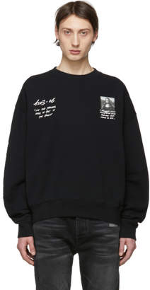 Off-White Off White Black Monalisa Sweatshirt